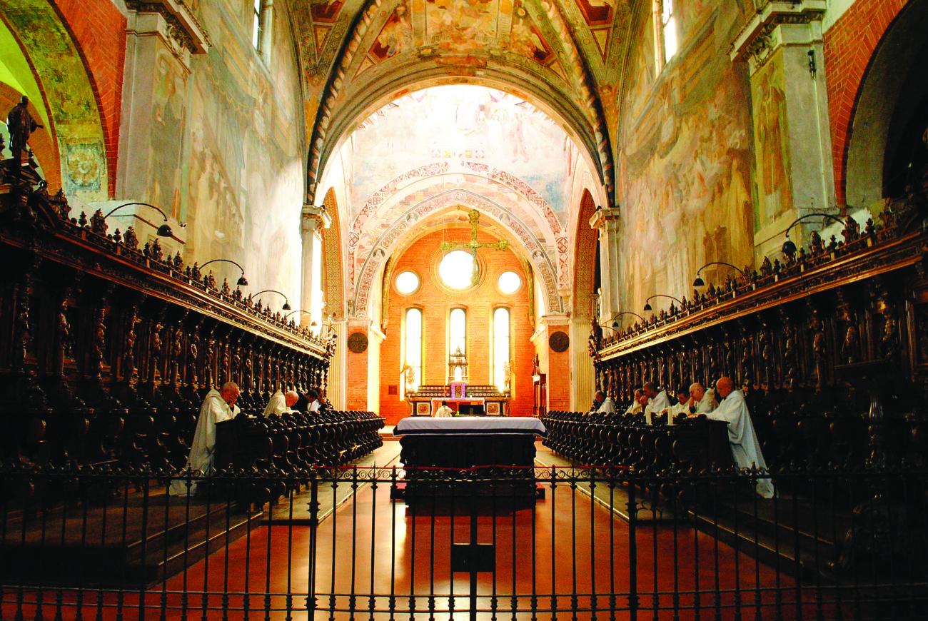 , Il Priore dell'Abbazia di Chiaravalle: «Chi voglia passare anche solo un giorno con noi è il benvenuto»
