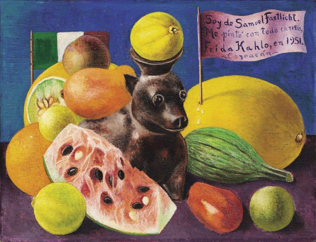 Frida-Kahlo-Natura-morta-Sole-di-Samuel-Fastlicht-1951.-Galeria-Arvil-USA.-Credits-©-Banco-de-México-Diego-Rivera-Frida-Kahlo-Museums-Trust-México-D.F.-by-SIAE-2018-