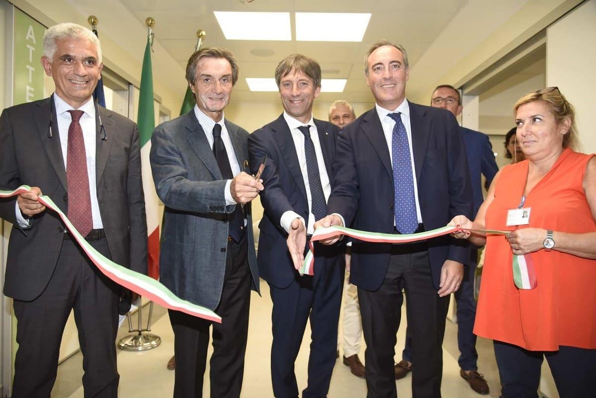 , Inaugurato il nuovo Pronto soccorso del San Paolo. Presente il Presidente Fontana