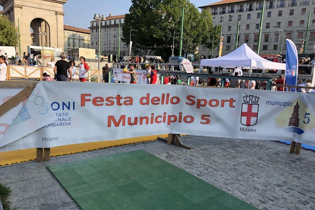Festa dello sport- Darsena -settembre 2019