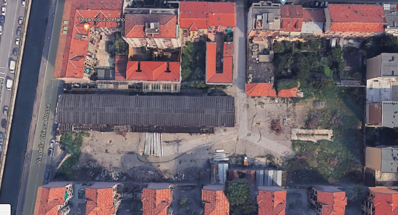 , Ex deposito Autolinee Sila di via De Sanctis 10, c'è il progetto di farne uno studentato