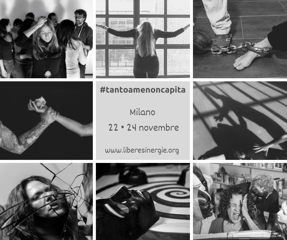 """, """"Tanto a me non capita…"""" mostra fotografica, dibattiti,  performance teatrale. Fabbrica del Vapore, 22–24 novembre"""