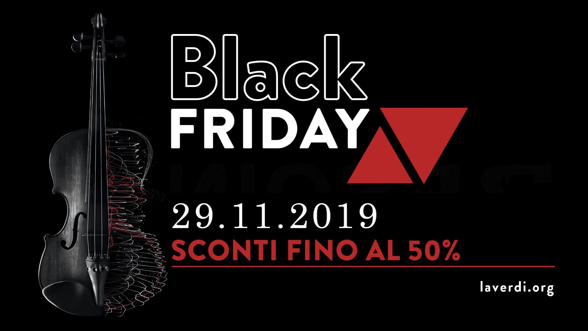 , Black Friday speciali: no code, no shopping, solo note e parole per i neuroni al Pacta Teatro, a laVerdi e all'Elfo