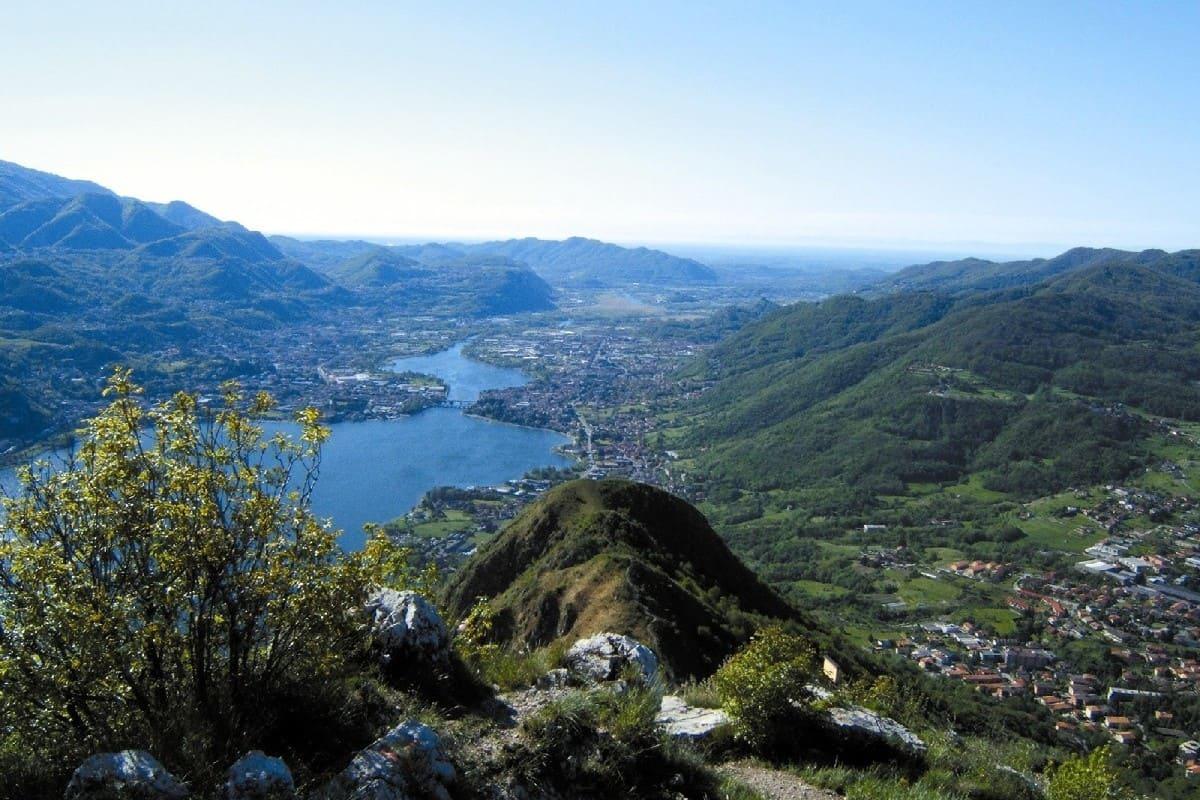 , Rifugio Rosalba, in cima alla Grignetta, paradiso dell'Abate Stoppani, di Cassin e Bonatti