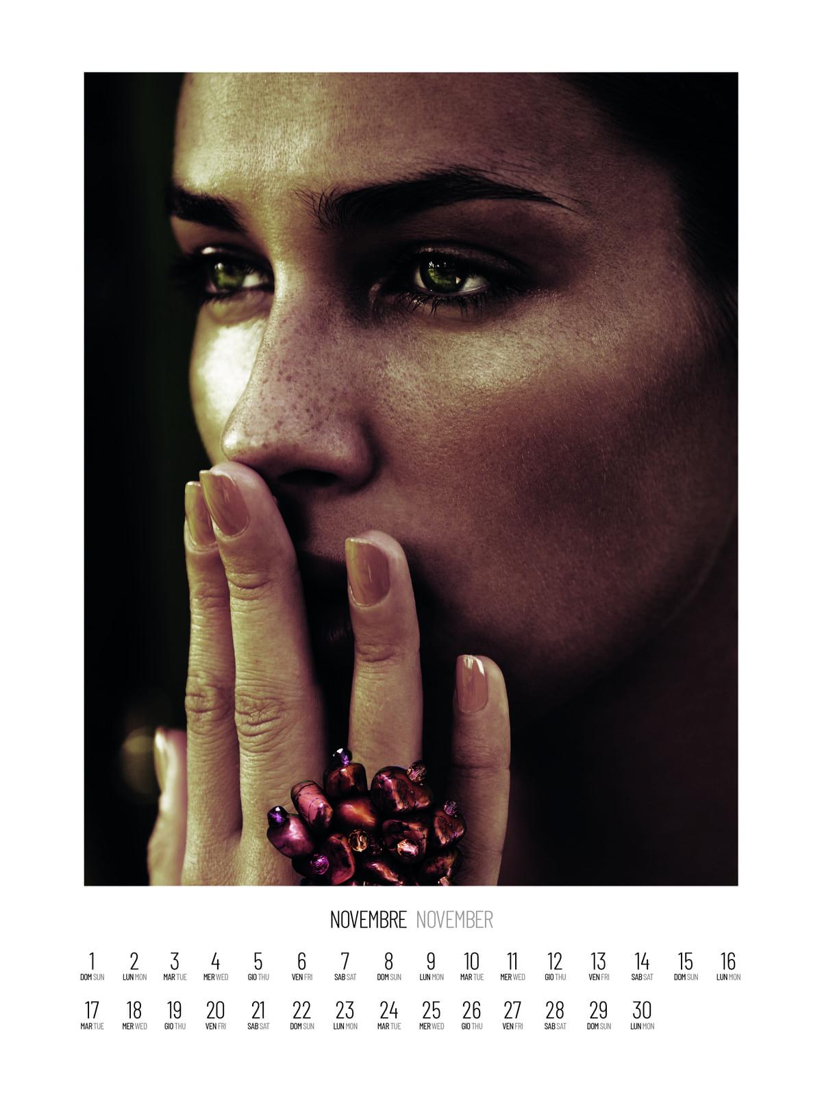 , Lotta alla violenza sulle donne, presentato il calendario benefico con foto di Andrea Varani