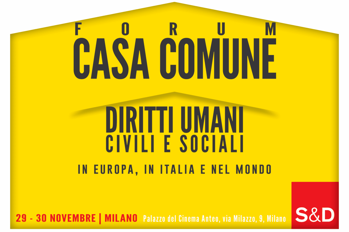 , Il 29 e 30 novembre prende il via il primo forum di Casa Comune, voluto da Pierfrancesco Majorino