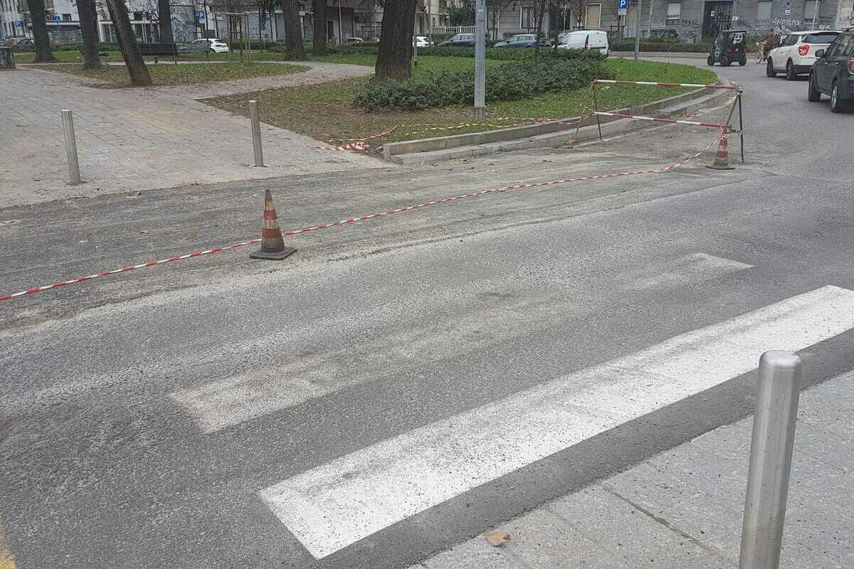, Finite le piogge, interventi di manutenzione in via Montegani e via Ripamonti