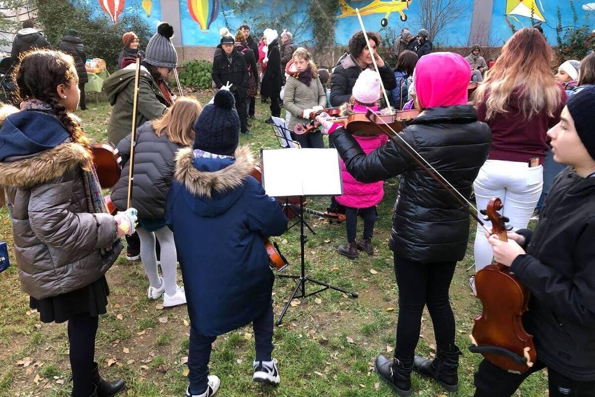, Domenica 15 dicembre, festa di Natale al giardino di via Conchetta