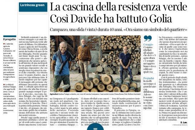 , Così Davide ha battuto Golia: il commento di Gianni Bianchi all'articolo sul Corriere di oggi